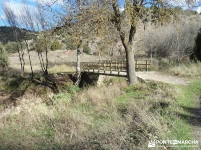 Parque Natural del Barranco Río Dulce;huesca senderismo ruta senderismo cadiz